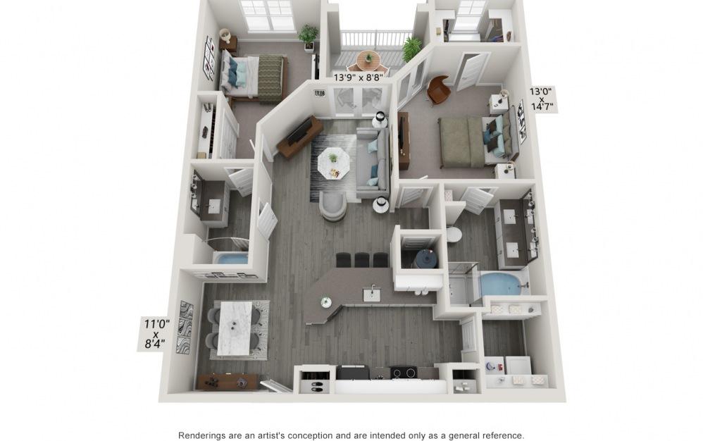 Hawthorne Waterstone Bella Floor Plan